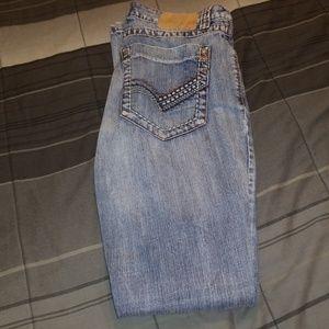 30×34 western petrol jeans (peyton)